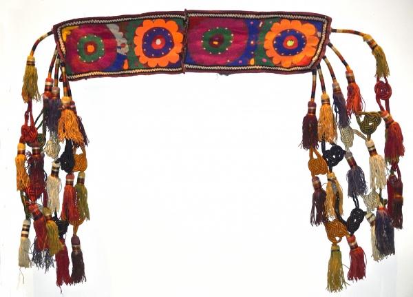 Afghani Tassel Panel