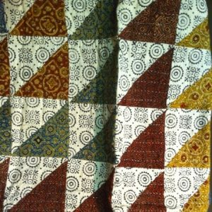 Handmade Ralli Quilt, Lap Robe and Bed Cover