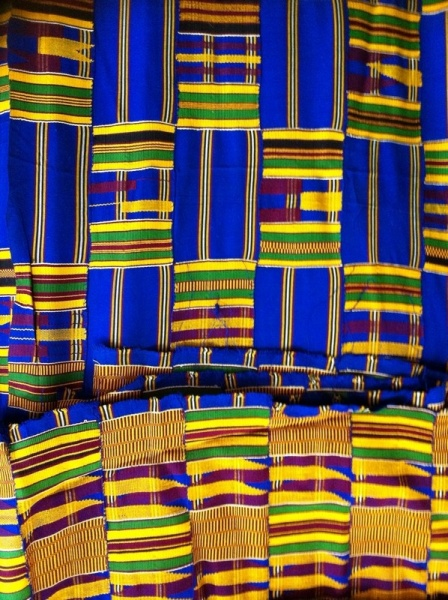 Kente Cloth Blue