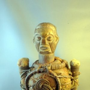 African Yaka Fetish Figure