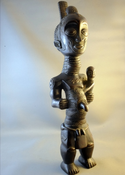 Benelulua Maternity Figure From Zaire