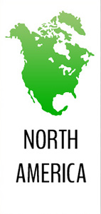 Green North America Picture